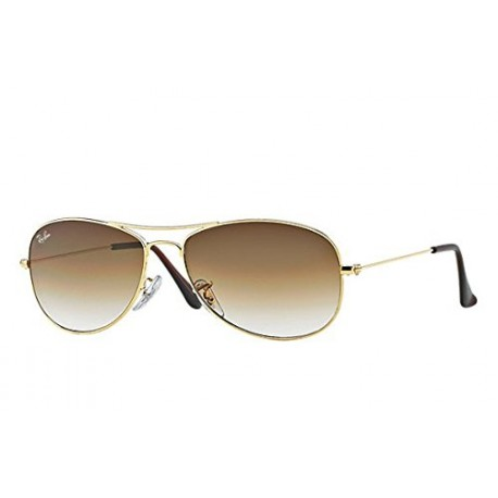 Ray-Ban - Lunette de soleil RB3362 Cockpit Aviator, Multicoloured (Arista/Brown Gradient 001/51)