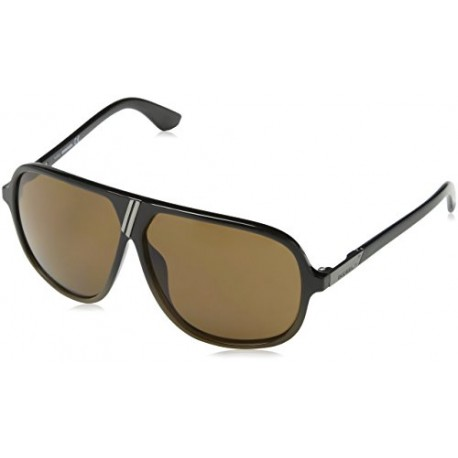 Diesel - Lunette de soleil DL0043 Aviator - Black & Brown Frame / Brown Lens