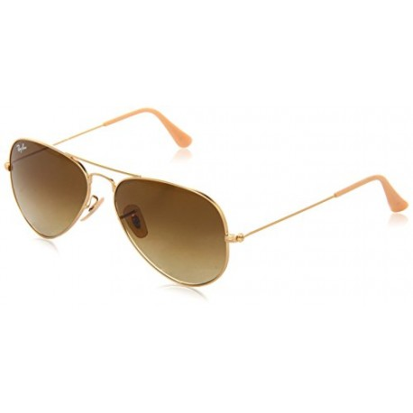 Ray-Ban - Lunettes de Soleil - RB3025 Aviator Metal Aviator 55 mm, Gold (112/85) 55 mm