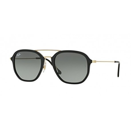 Ray-Ban - DOUBLE BRIDGE RB 4273, Géométriques, propionate, homme, BLACK/GREY GREEN SHADED(601/71 D), 52/21/145